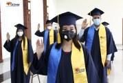 Se gradúan nuevos profesionales de la UCENM