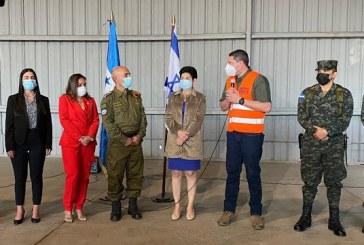 Llega al país equipo israelí de socorro y rescate para ayudará en la rehabilitación de las zonas afectadas por las tormentas ETA e IOTA