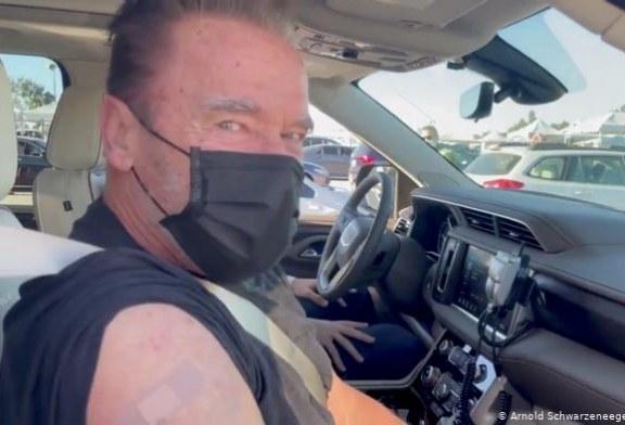 Arnold Schwarzenegger ya se vacunó contra el Covid-19