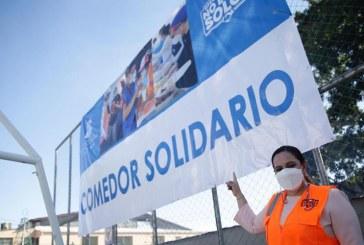 Instalan Comedor Solidario en la colonia Rivera Hernández donde las familias recibirán alimentación gratuita
