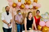Festejo sorpresa en honor a la abogada María Antonia de Suazo con motivo de su cumpleaños