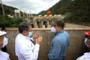 Hernández supervisa avances de la hidroeléctrica Patuca III en Olancho, generará 104 megavatios de energía limpia