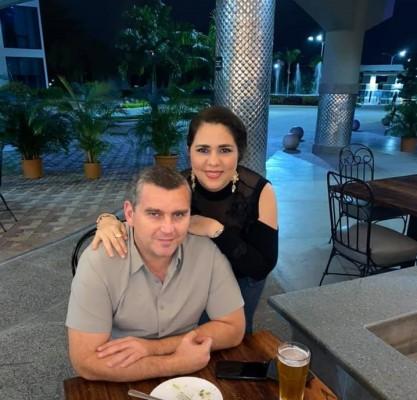 Jocelyn y Farid Kattum