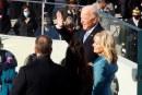 Joe Biden rinde protesta como el 46º presidente de Estados Unidos