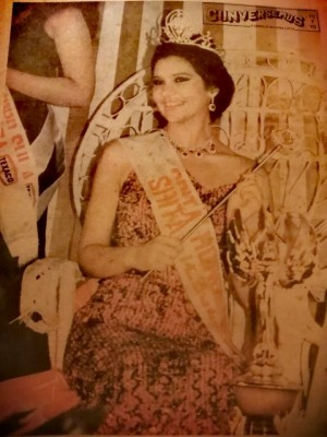 Leslie Nohemy Sabillon Davila, Señorita Honduras 1981,