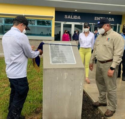 Inauguran modernas instalaciones de la Dirección Nacional de Vialidad y Transporte en San Pedro Sula