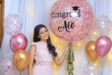 Celebran la graduación de Alexa Mena Sánchez