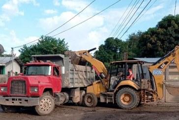 Se han recolectado más de 25.783 metros cúbicos de escombros en Puerto Cortés, Choloma y San Pedro Sula