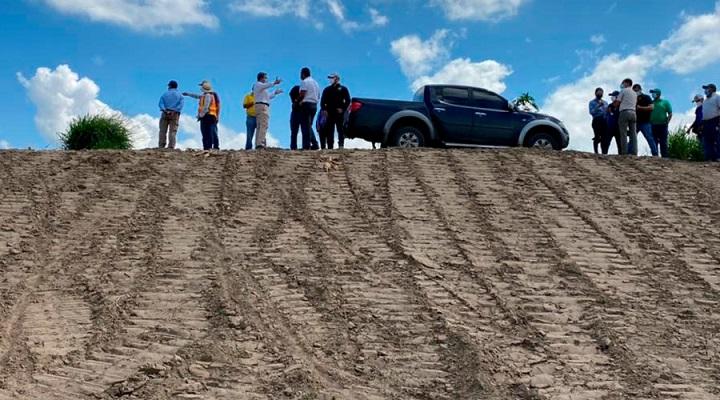 Reconstruyen 13 tramos de bordo del río Chamelecón entre Villanueva y La Lima