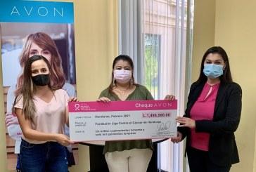 Liga Contra el Cáncer y Listones de Amor reciben donativo de Avon Promesa contra el Cáncer de mama