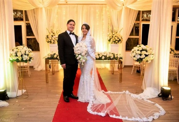 La romántica boda de Daniel Rivera y Keidy Gutiérrez