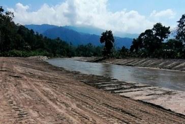 Habitantes de varias aldeas de Omoa regresan a sus hogares luego de dragado de ríos que causaron destrozos