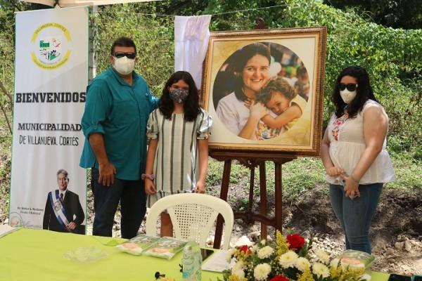 """En Villanueva, Cortés: Inauguran centro de salud """"Nuestra Señora de Guadalupe"""" en memoria a Guadalupe de Abufele"""