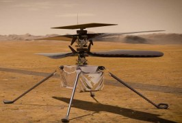 La NASA planea el primer vuelo de un helicóptero en el planeta Marte
