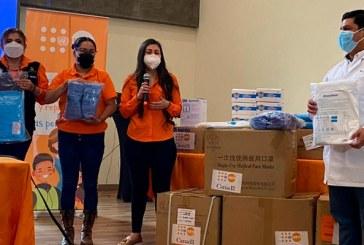 Fondo de Población de las Naciones Unidas dona equipo de protección para personal de Salud
