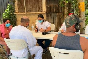 Llegan a San Pedro Sula los primeros migrantes deportados de EEUU después de las inundaciones de Eta e Iota