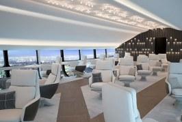 Revelan imágenes del concepto de interior del futuro dirigible comercial Airlander 10