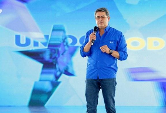 En Convención del Partido Nacional: Presidente Hernández expone logros alcanzados por su Gobierno