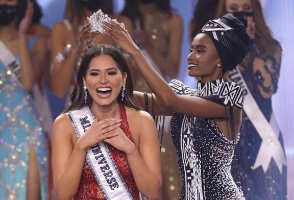 Andrea Meza de México se convierte en la nueva Miss Universo 2020