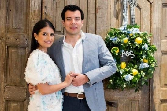 Andrea y Sergio René despiden su soltería al estilo siciliano