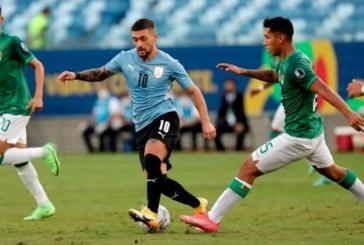 Uruguay a cuartos de final de la Copa América tras vencer a Bolivia