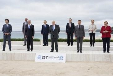 Anuncia G7 donación de mil millones de vacunas contra el covid a países pobres