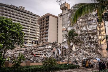 Autoridades elevan a 18 los muertos por derrumbe de edificio en Miami-Dade