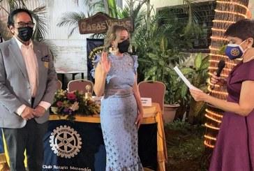 Patricia Girón preside la nueva directiva del Club Rotario Merendón