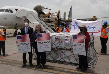 Gobierno de EEUU realiza nueva donación a Honduras de 1.5 millones de dosis de vacunas contra COVID-19