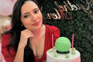"""Una """"Tenis Party"""" en el cumpleaños de Grethel Mena"""