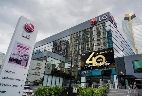 LG Electronics celebra sus 40 años liderando la innovación y tecnología en Latinoamérica