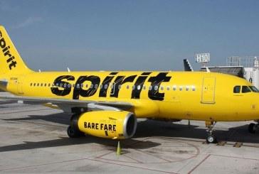 Spirit Airlines inició vuelo directo entre Nueva Orleans y San Pedro Sula