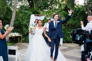 La boda de Rebeca y Jacob… llena de magia y encanto natural