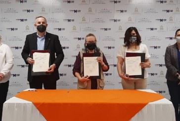 Ciudad Mujer firma convenio de cooperación con World Vision Honduras y CADERH para elevar competitividad laboral de hondureñas