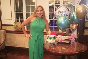 Múltiples agasajos para a Marielos Gutiérrez en su cumpleaños