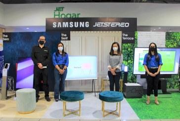 Imprégnale estilo a tus espacios con los nuevos televisores de Samsung Lifestyle TV en Jetstereo