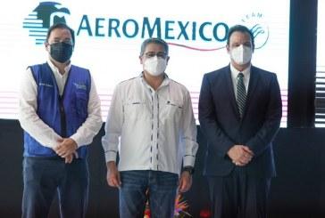 Aeroméxico iniciará operaciones en Palmerola con 3 vuelos por semana