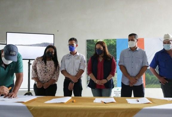 Firman convenio para protección de Reserva del Hombre y Biósfera Cacique Lempira