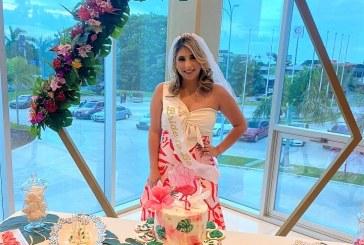 Andrea Zelaya y su exclusivo bridal shower estilo Tropical