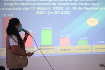 Autoridades de Salud piden a la población vacunarse contra la covid-19 antes del Feriado Morazánico