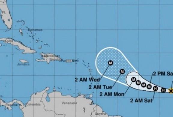 Tormenta tropical Sam se convierte en huracán en su paso por el Caribe
