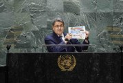 JOH en la ONU: Si Estados Unidos premia falsos testimonios, atenta contra la lucha mundial antinarcóticos