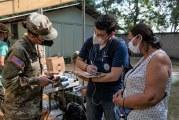 Médicos Militares de EEUU realizan brigada de Salud en el Departamento de Cortés