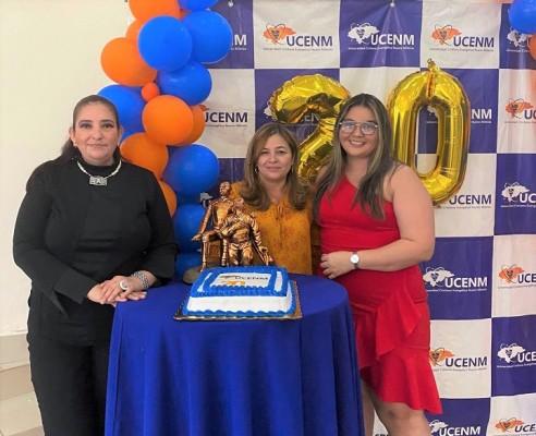 UCENM celebra 20 años de formando profesionales a nivel nacional