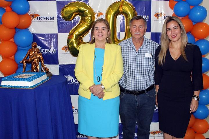 UCENM celebra 20 años de éxitos formando profesionales a nivel nacional