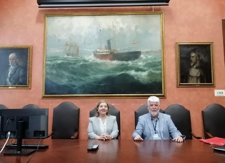 Rectora de UCENM realiza vista a Facultad de Náutica de Catalunya para evaluar cooperación bilateral