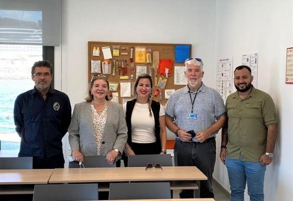 Rectora de UCENM realiza vista a Facultad de Náutica de la Universidad Politécnica de Catalunya para evaluar cooperación bilateral