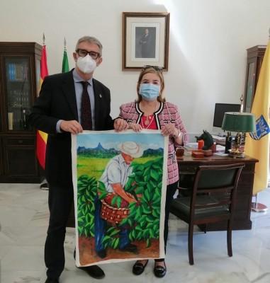 Rectora de UCENM realiza visita interinstitucional a la Universidad de Cádiz, España