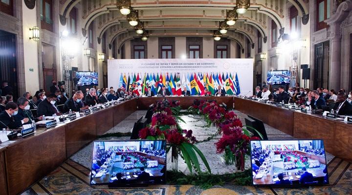 Presidente Hernández expone logros de su Gobierno para mejorar la seguridad en VI Cumbre de Celac en México