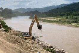CCIVS inicia recta final de reconstrucción del sistema hidráulico del río Chamelecón en Playita